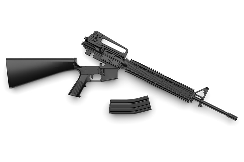Little Armory LA056 M16A4 Type Plastic Model